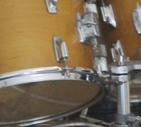 Converting an acoustic kit to electronic