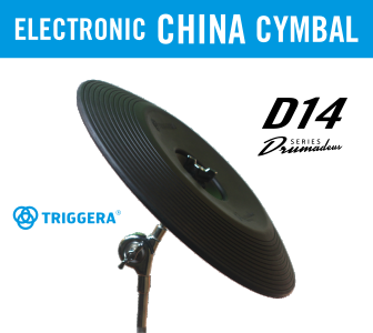 Electronic china cymbal - Triggera D14