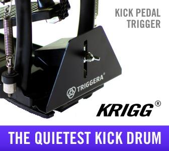 silent kick drum